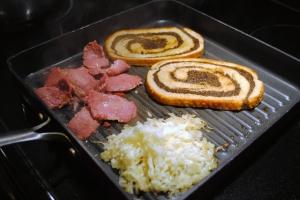 cooking reuben