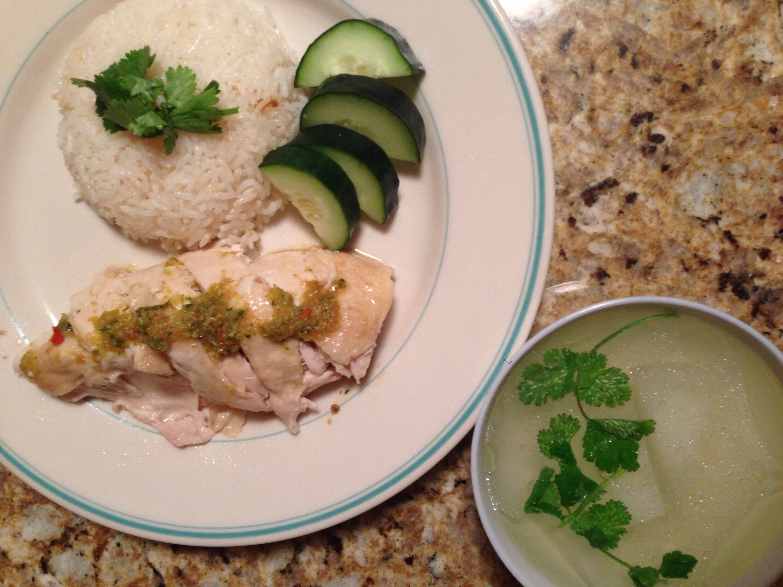 Thai Chicken Rice (Kao Mun Gai)